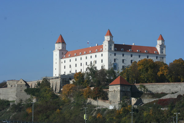 Bratislava: A White Castle and a Blue River