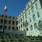 Exterior of the InterContinental Marseille-Hotel Dieu, a hotel created from an 18th century hospital.