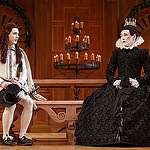 "Richard III and Twelfth Night are staged under ""original practices."""
