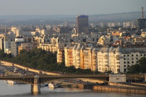 Views of the Danube embankment and the city's architectural charms, on the Pest side of Budapest.