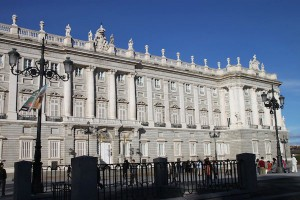 The Royal Palace in the historic center of Madrid, a must-see regardless of special interests.