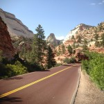 Zion-Mt. Carmel Highway -- Zion National Park