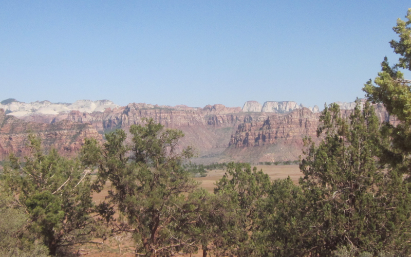 Smith Mesa off Kolob Terrace Road.