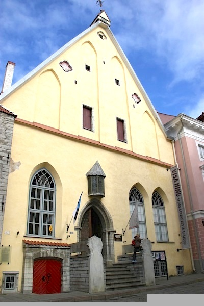 Great Guild Hall, home to the most powerful of Tallinn's merchant guilds during Hanseatic League days.
